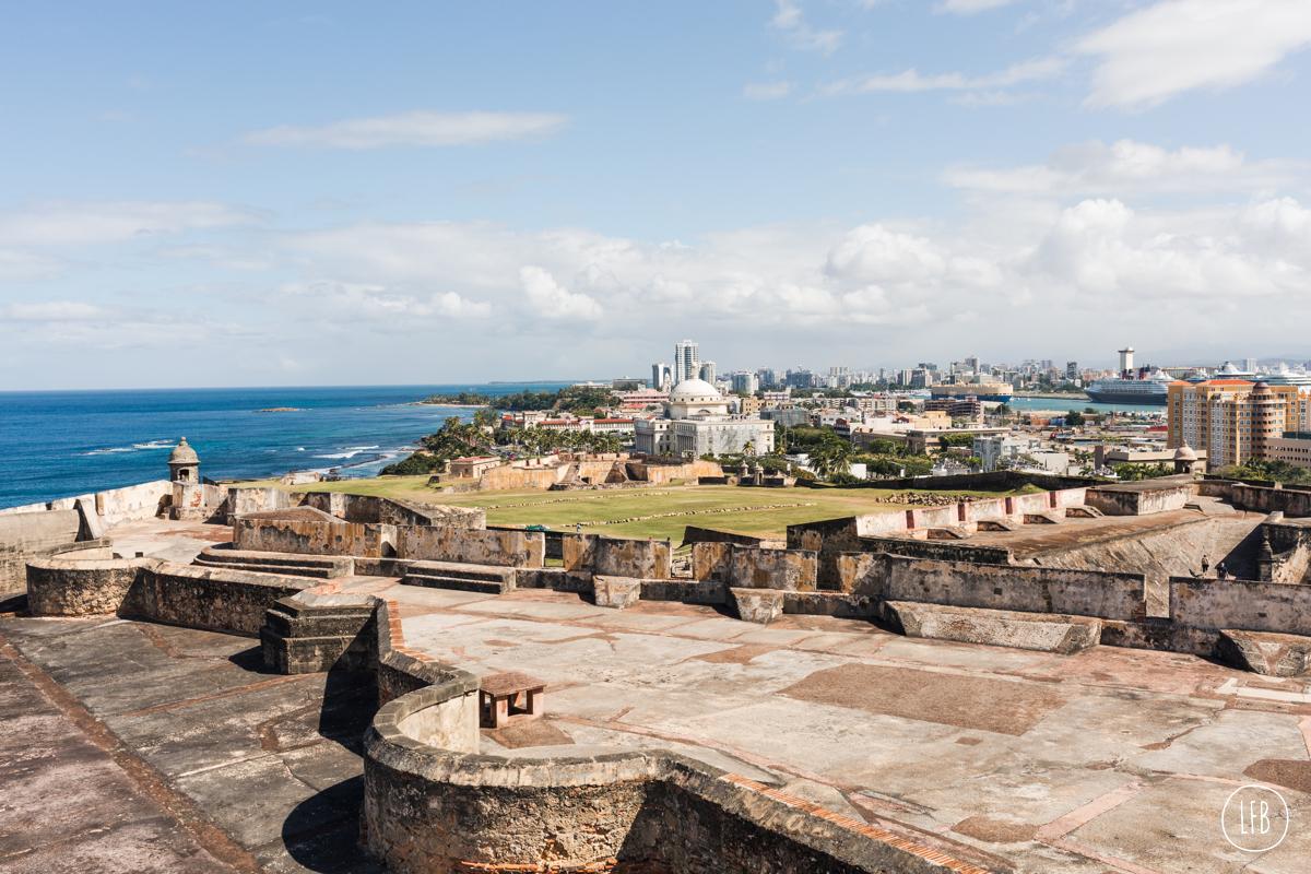 photos of Castillo San Cristóbal - taken by Rae Tashman for lovefromberlin.net