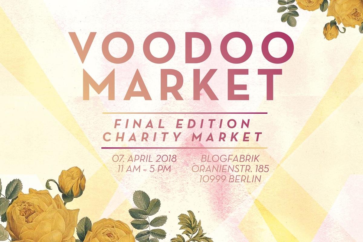 Voodoo Market - Final Edition Charity Market banner